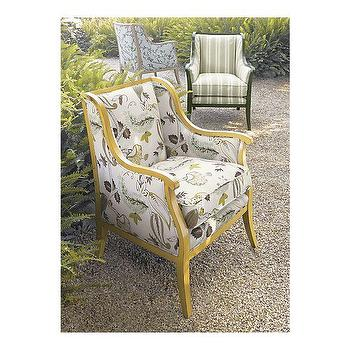 Carly Chair with Anjou Yellow Frame in Chairs, Crate&Barrel
