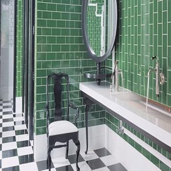 green subway tile backsplash - White Subway Tile Backsplash