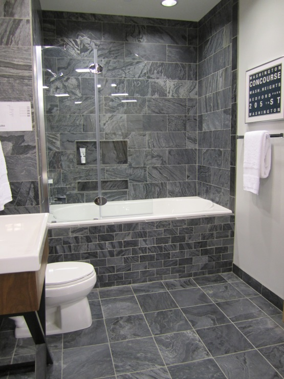 slate grey bathroom tiles bathroom sherwin williams passive 20409