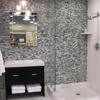 Contemporary Mosaic Tiles, Contemporary, bathroom