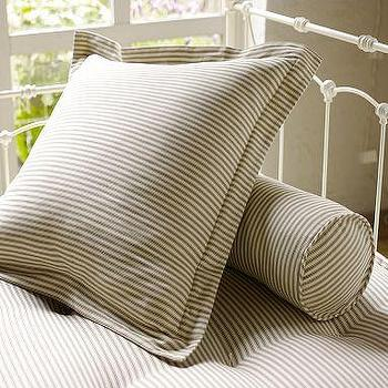 Ticking Black And White Stripe Duvet