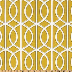 Dwell Studio Bella Porte Citrine, Discount Designer Fabric, Fabric.com