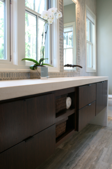 Floating Vanity Contemporary Bathroom Rethink Design