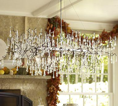 Lucinda Branch Chandelier Pottery Barn