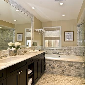 Espresso bathroom vanity design ideas for Espresso bathroom ideas