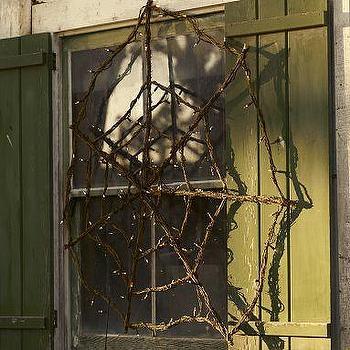 Lit Twig Spider Web, Pottery Barn
