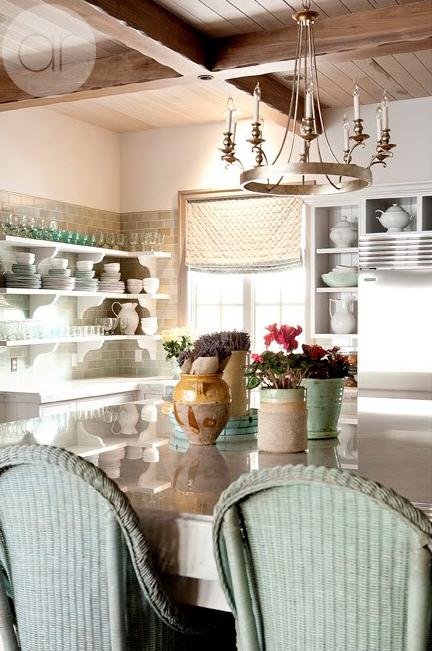 Interior design inspiration photos by decor de provence for Provence kitchen design
