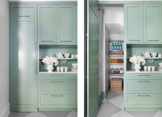 Hidden Pantry Doors Design Ideas