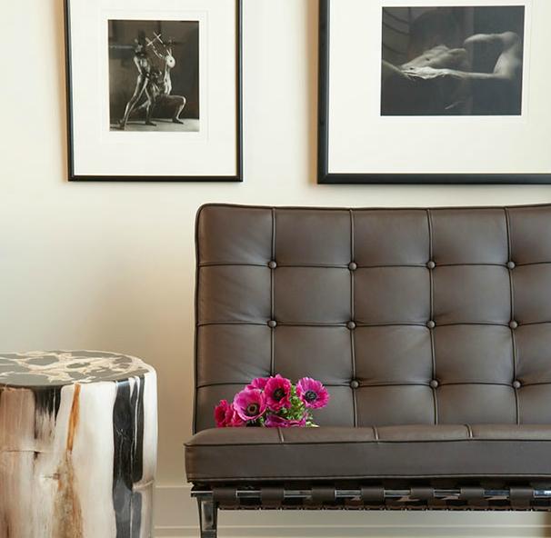 Barcelona Chair - Contemporary - living room - Mark Williams Design