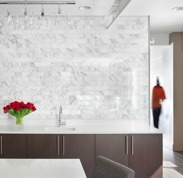 marble subway tile contemporary kitchen mark