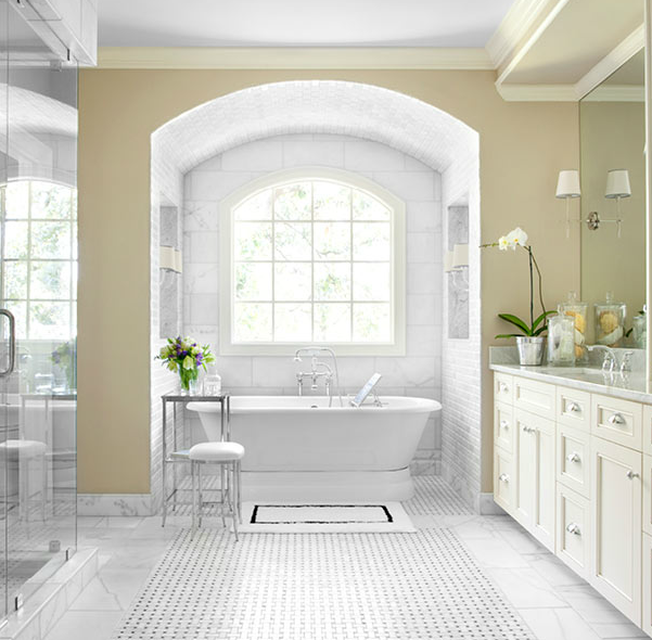 bathroom alcove transitional bathroom mark williams
