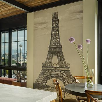 veneer kitchen cabinets contemporary kitchen janof With kitchen cabinets lowes with metal eiffel tower wall art