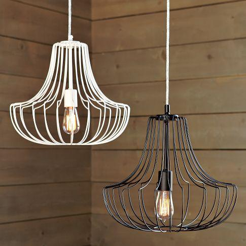 Small Wire Pendants West Elm