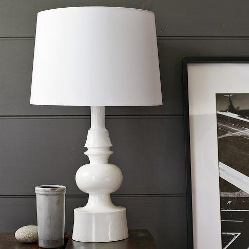 Turned Table Lamp West Elm