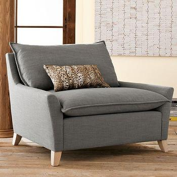 Bliss Chair and a Half, west elm