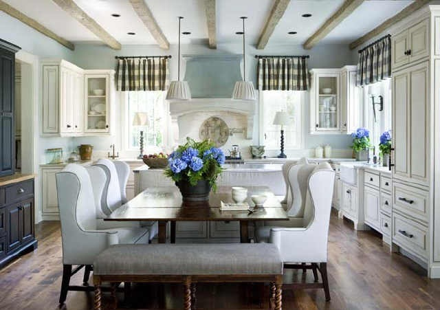 Kitchen With Open Breakfast Area