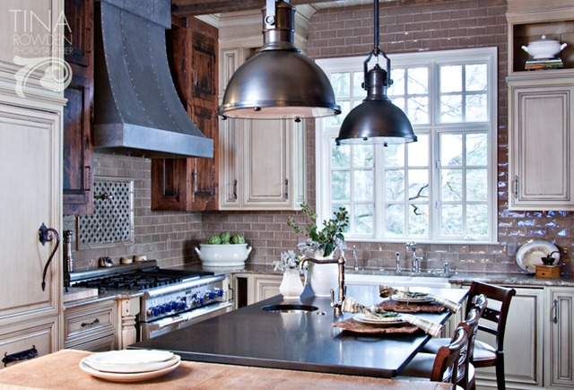 Kitchen for Country industrial kitchen designs