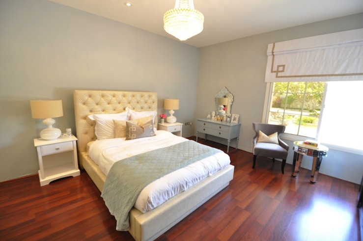 grey blue bedroom walls contemporary bedroom benjamin moore arctic gray caitlin wilson. Black Bedroom Furniture Sets. Home Design Ideas