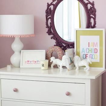 Ikea Hemnes Nightstand Contemporary Girl S Room The
