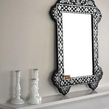 Greige Paint, Contemporary, living room, Benjamin Moore Edgecomb Gray, Caitlin Wilson Design