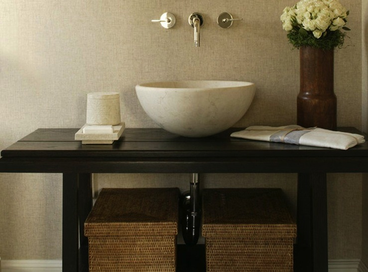 Zen Bathroom - Transitional - bathroom - Tamara Magel