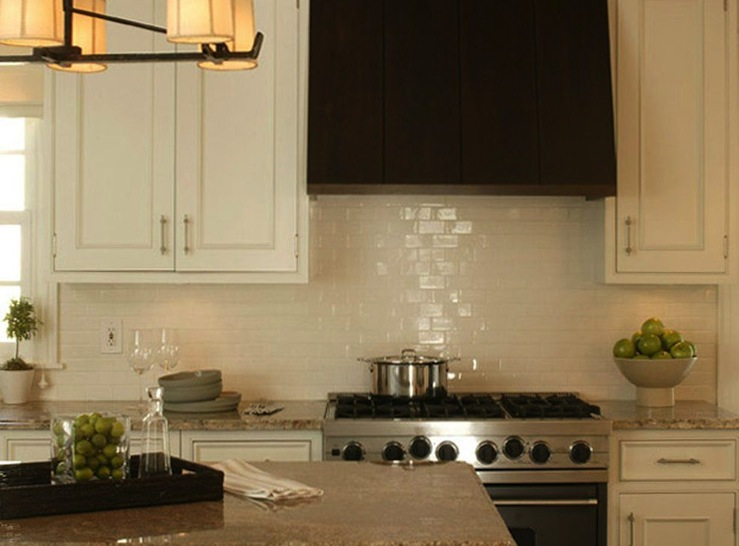 ivory subway tile backsplash design ideas
