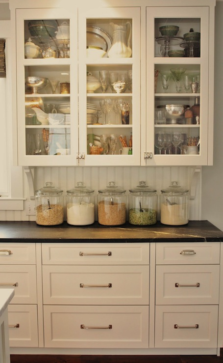 Benjamin Moore White Dove Cabinets - Cottage - kitchen ...
