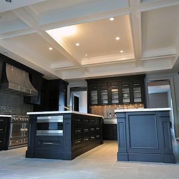 Coffered Kitchen Ceiling