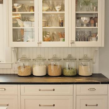 Benjamin Moore White Dove Cabinets, Cottage, kitchen, Benjamin Moore White Dove, For the Love of a House