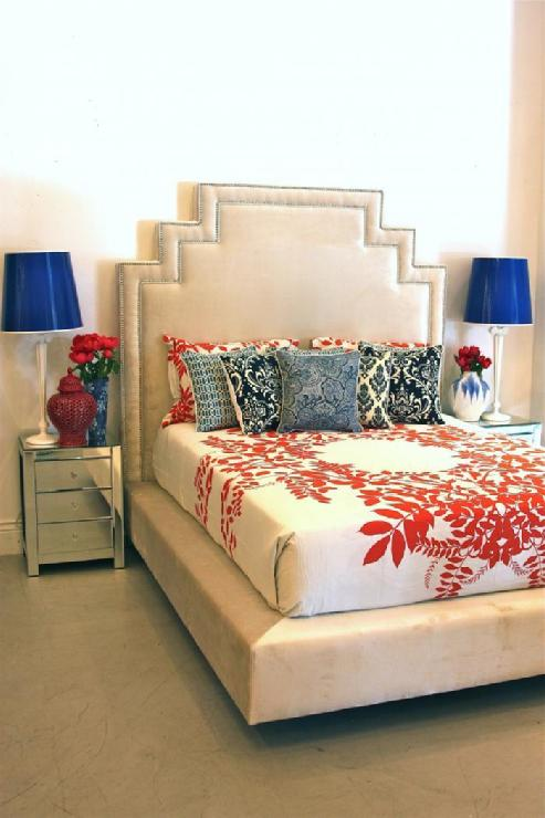 Z gallerie jameson bed for Linda platform customizable bedroom set