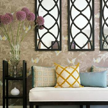 Fringe Sofa Eclectic Living Room Stephen Shubel Design