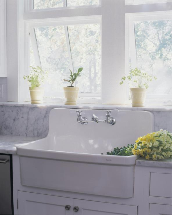 Farm Style Sinks For Kitchen: Farm Sink Design Ideas