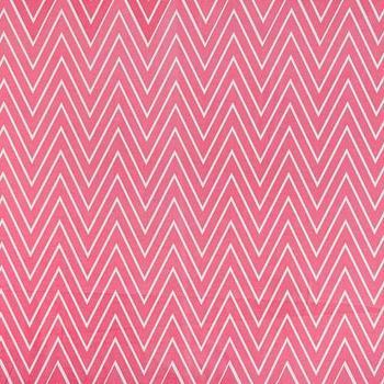 Caitlin Wilson Textiles: Coral Tall Chevron Fabric