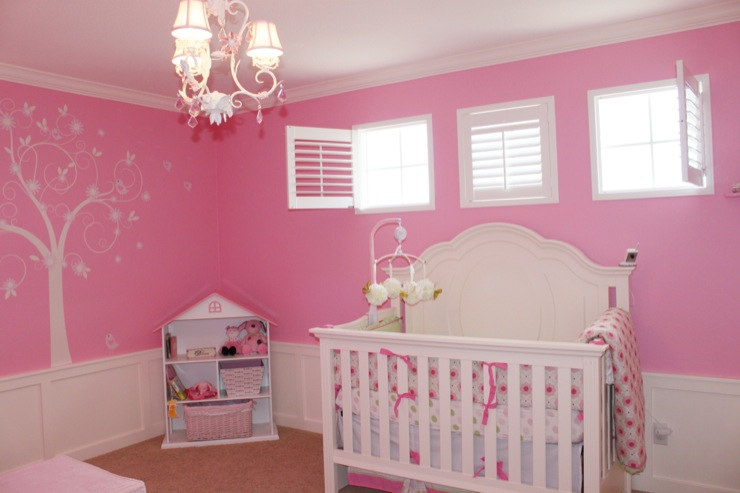 Pink Nursery Design Ideas