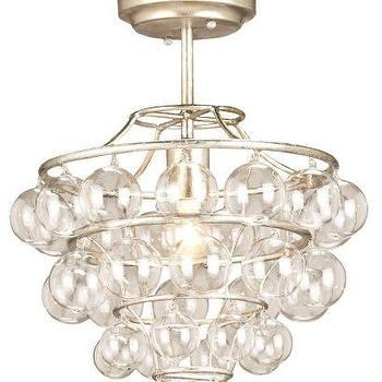 currey & co astal glass ball ceiling light pendant