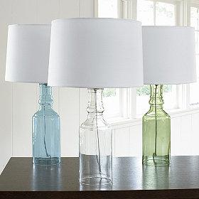 Glass Table Lamp, The Company Store