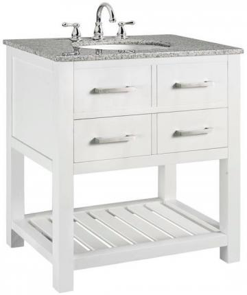 curved legs white bathroom vanity - products, bookmarks, design