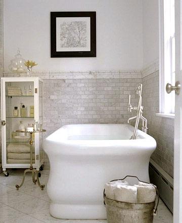 Apothecary Bathroom Cabinet Transitional Bathroom Bhg