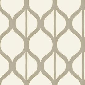 Shop Allen Roth Pearl Geometric Design Wallpaper At Lowes