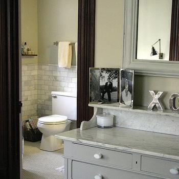 Gray Chest, Transitional, bathroom, KItchen Lab
