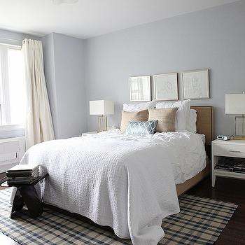 silver walls contemporary bedroom ici dulux silver cloud am