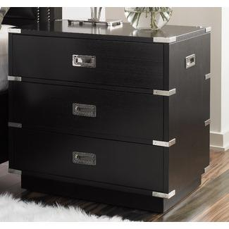 lexington black ice mineral nightstand wayfair