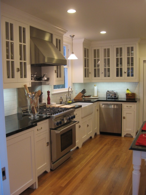 Absolute Black Granite - Cottage - kitchen - HGTV on Maple Cabinets With Black Granite Countertops  id=82154