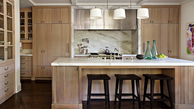 Light brown kitchen cabinets design ideas lovely kitchen design with light toffe stained kitchen cabinets stone counter tops backsplash pot filler toffee stained kitchen island workwithnaturefo