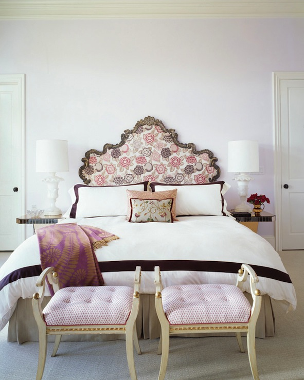 Lilac and purple bedroom french bedroom jeffers for Bedroom ideas lilac