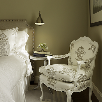 Taupe Bedroom, Transitional, bedroom, Artistic Designs for Living