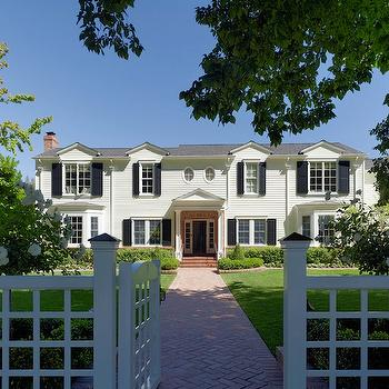 Father of The Bride Style House, Traditional, home exterior, Jeffers Design Group
