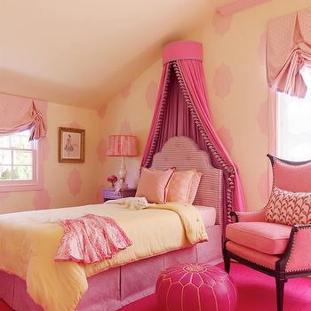 Little Girl's Pink Room, Transitional, girl's room, Jeffers Design Group