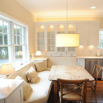 Kitchen Banquette, Transitional, dining room