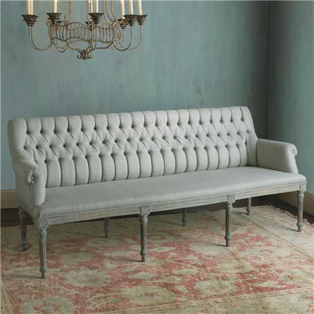 Distressed French Country Bench Benches Wisteria